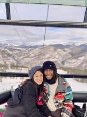 We went to Colorado for the first time and hope to explore more of the US! We are both from coastal cities (in California, Florida, New York) so it was exciting to see vast mountain terrains.