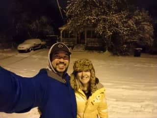 Justin and Erin
