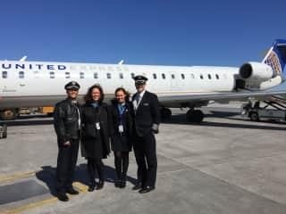 Sandi - former flight attendant