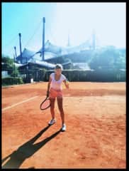 Whenever there is time I love playing tennis