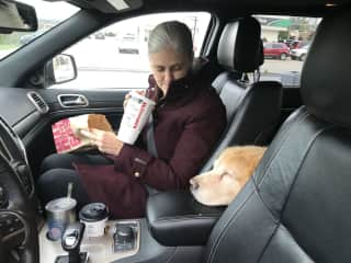 He likes the golden arches.