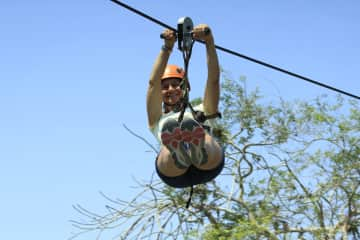Becky - Loves to zipline!