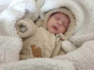 Our newborn son