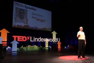 Professional Speaker and Writer - TedTalk at Lindenwood University