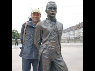 Michael being a tourist in Besançon