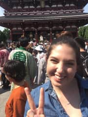 Exploring Sensoji Temple during Sanja Matsuri
