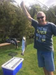 Graeme Salmon fishing... what fun!