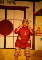 Brenda as Wishy Washy.  in Aladdin