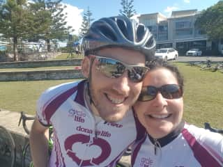 Cycling - Donate for Life Ride in Kingscliff, NSW