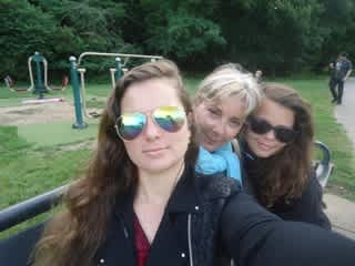 in an English park
