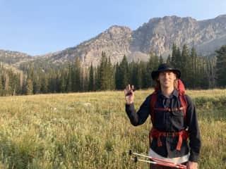 Me enjoying the Utah mountains