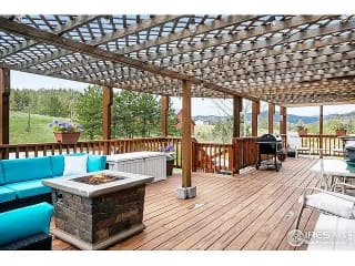 The awesome deck in Colorado