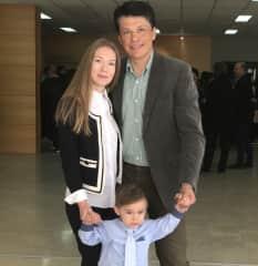 Valeria, Lefteris and Emilio
