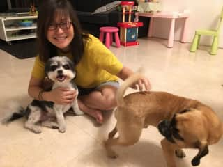 Tobe, Pauline and Snickers