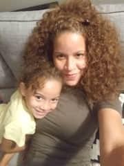 Daughter (Sunshine) and granddaughter (Selena)