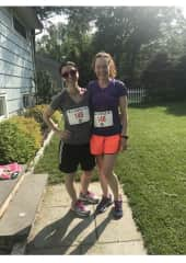 Road races with my bff