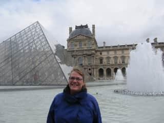 Jan in Paris (Louvre)