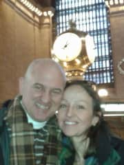 Evodio and I in NYC