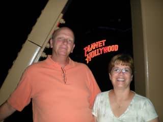 Carol and Guy at Disney Springs