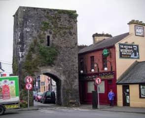 Entrance into town