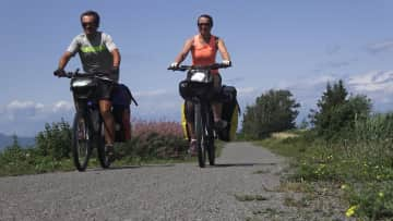 We are bikers. Here, during the last biketrip in East Province of Canada (summer 2019)