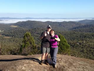 Hiking our spectacular local ranges Mt Norman, Girraween NP .