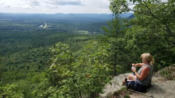 A favorite 3 mi. day hike @ Mt. Will in Newry Maine. An overlook of Bethel Maine, Sunday River Ski Area and Andrew's ogling River.