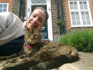 Jill with Polly, London, May 2019