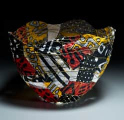 Fabric bowl by Kate
