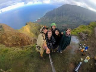 Epic hiking and camping in the canyons on the island of Kauai!