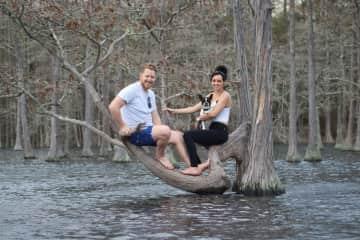 Kayaking in Twin City, GA