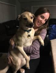 Duke from our Alaska housesit
