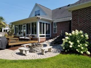 Deck, patio & sun room