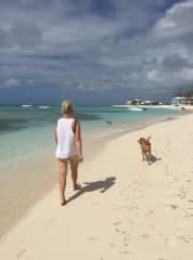 At our vacation property in Grand Turk, Turks & Caicos Islands, BWI