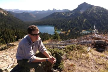 Kevin at Mt. Rainier