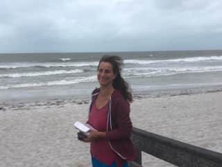 I even love the beach in strong winds