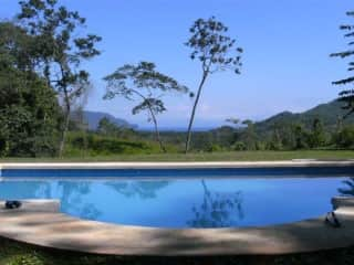 The pool! The view! The big, huge yard! <3