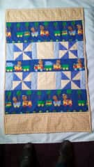 A baby cot quilt-sold.