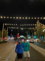 First day in Los Angeles with my friend Arturo