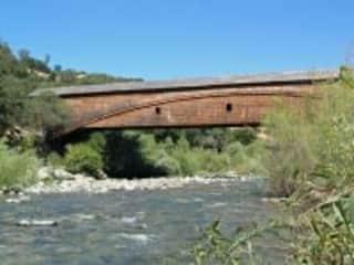 Bridgeport, the longest covered bridge in the US.