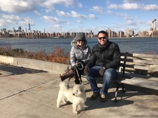 Lillo, our host in New York City (Dec/2016)