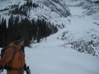 Back-country skiing