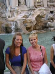 Italy is my favorite since my daughter was born in Naples; this is Trevi Fountain in Rome