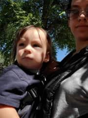 Going on a walk to the historic square in Prescott, Arizona