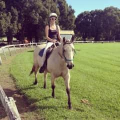 Riding Simba