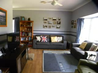 our living room at home