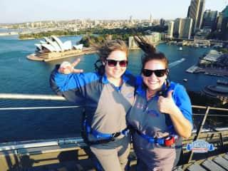 Bridge climb in Sydney, AUS