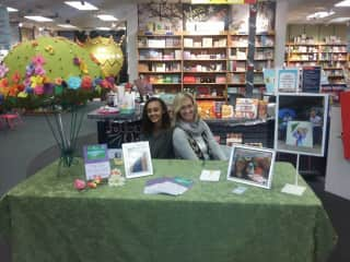 Me and My niece, Author and Illustrator at a Book Signing.  2018.
