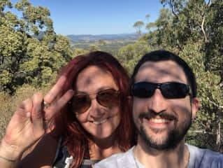 Jason and I on one of our Queensland hikes