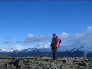 Hiking close to Eyjafjallajokull